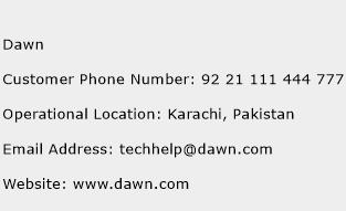 Dawn Phone Number Customer Service