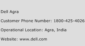 Dell Agra Phone Number Customer Service