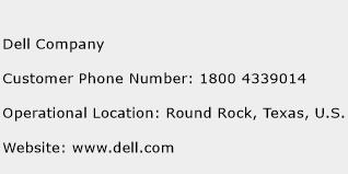 Dell Company Phone Number Customer Service
