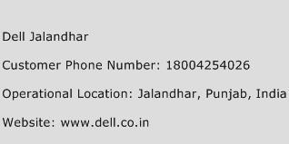 Dell Jalandhar Phone Number Customer Service