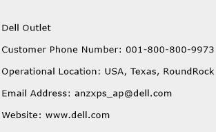 Dell Outlet Phone Number Customer Service