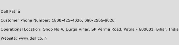 Dell Patna Phone Number Customer Service
