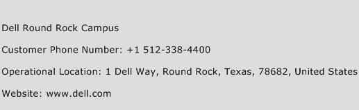 Dell Round Rock Campus Phone Number Customer Service