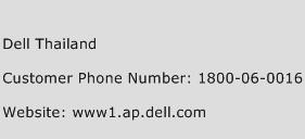 Dell Thailand Phone Number Customer Service
