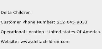 Delta Children Phone Number Customer Service