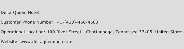 Delta Queen Hotel Phone Number Customer Service