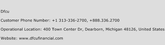 Dfcu Phone Number Customer Service
