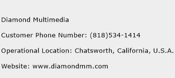 Diamond Multimedia Phone Number Customer Service