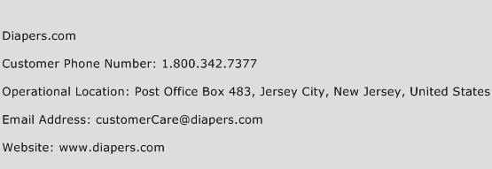Diapers.com Phone Number Customer Service