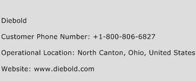 Diebold Phone Number Customer Service