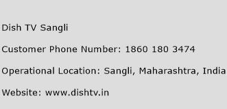 Dish TV Sangli Phone Number Customer Service
