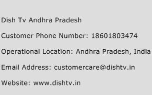 Dish Tv Andhra Pradesh Phone Number Customer Service