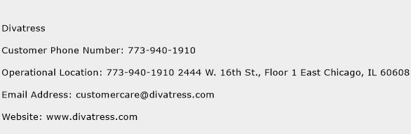 Divatress Phone Number Customer Service