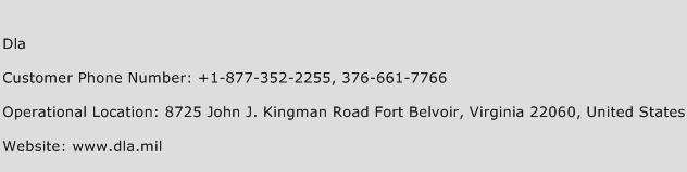 Dla Phone Number Customer Service