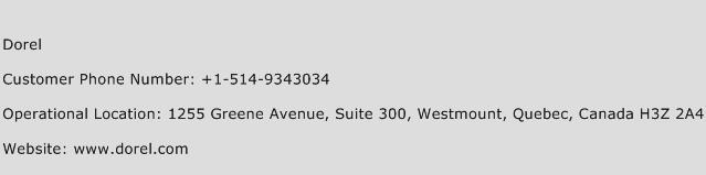 Dorel Phone Number Customer Service
