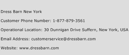 Dress Barn New York Phone Number Customer Service