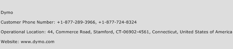 Dymo Phone Number Customer Service