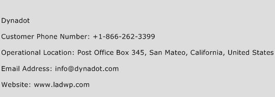 Dynadot Phone Number Customer Service