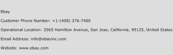 Ebay Phone Number Customer Service