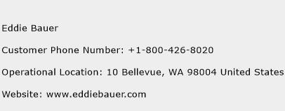 Eddie Bauer Phone Number Customer Service