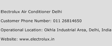 Electrolux Air Conditioner Delhi Phone Number Customer Service