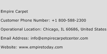 Empire Carpet Phone Number Customer Service