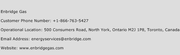 Enbridge Gas Phone Number Customer Service