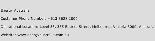 Energy Australia Phone Number Customer Service