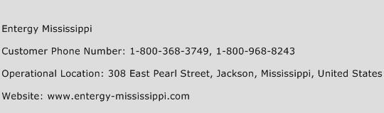 Entergy Mississippi Phone Number Customer Service