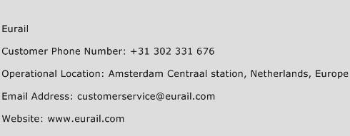 Eurail Phone Number Customer Service
