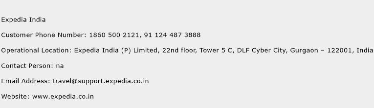 Expedia India Phone Number Customer Service