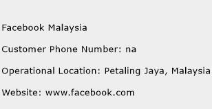 Facebook Malaysia Phone Number Customer Service