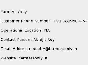 Farmers Only Phone Number Customer Service