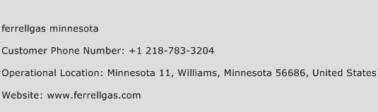 Ferrellgas Minnesota Phone Number Customer Service