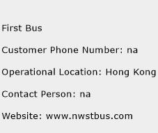 First Bus Phone Number Customer Service