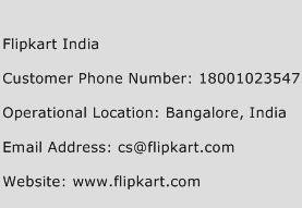 Flipkart India Phone Number Customer Service