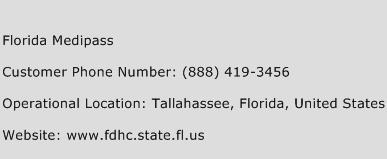 Florida Medipass Phone Number Customer Service