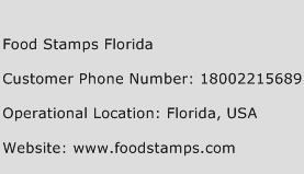 Food Stamps Florida Phone Number Customer Service