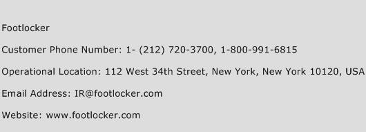 Footlocker Phone Number Customer Service