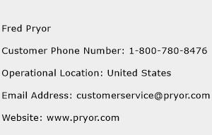 Fred Pryor Phone Number Customer Service
