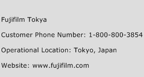Fujifilm Tokya Phone Number Customer Service
