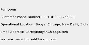 Fun Loom Phone Number Customer Service