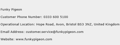 Funky Pigeon Phone Number Customer Service