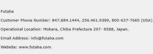 Futaba Phone Number Customer Service