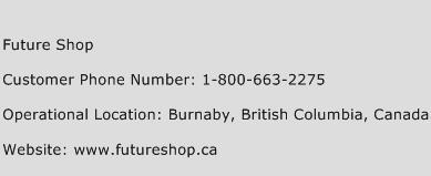 Future Shop Phone Number Customer Service