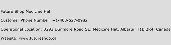 Future Shop Medicine Hat Phone Number Customer Service