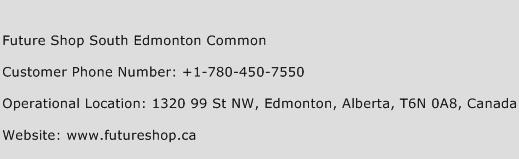 Future Shop South Edmonton Common Phone Number Customer Service