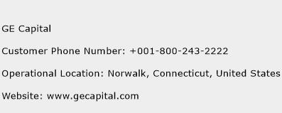 GE Capital Customer Service Phone Number | (Toll Free) Contact Address