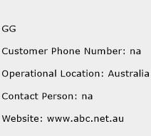 GG Phone Number Customer Service
