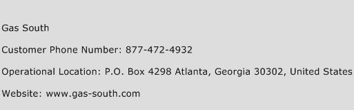 Gas South Phone Number Customer Service